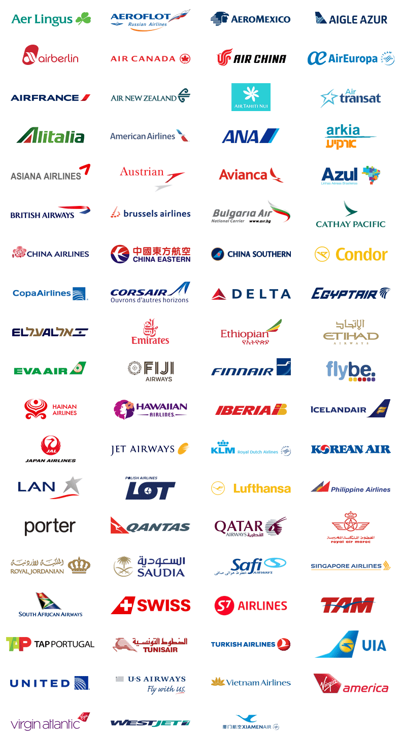 Carte Usa Canada Cote Est.Full Service Travel And Air Consolidator